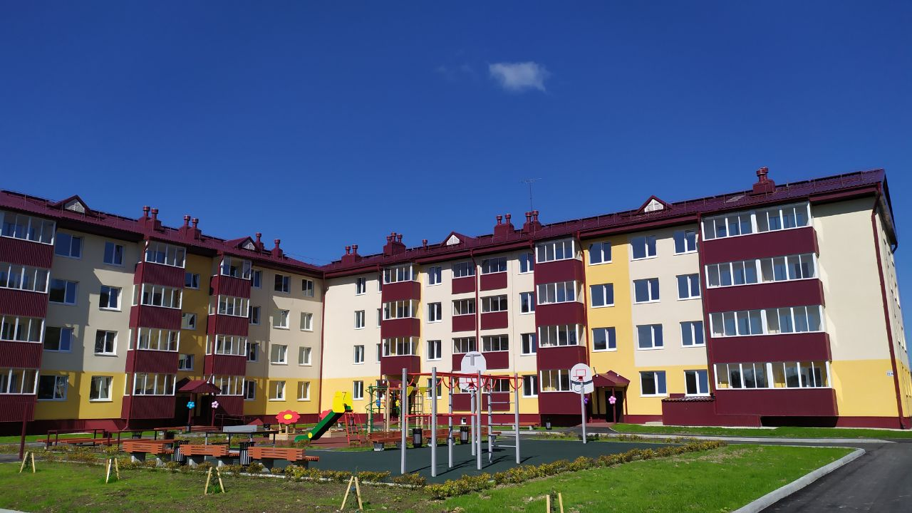 87-квартирный жилой дом
